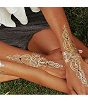 Temporary jewelery tattoos
