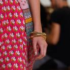Vivid colors and bold prints during the DVF Fashion Show