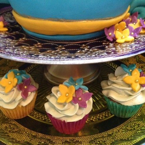 Gluten- free Coconut Matcha cupcakes