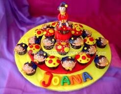 Cupcakes do Noddy