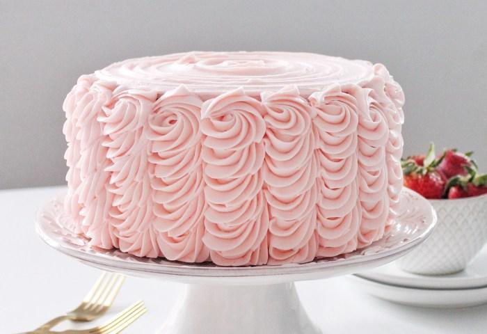Cake By Courtney Strawberry Lemonade Cake