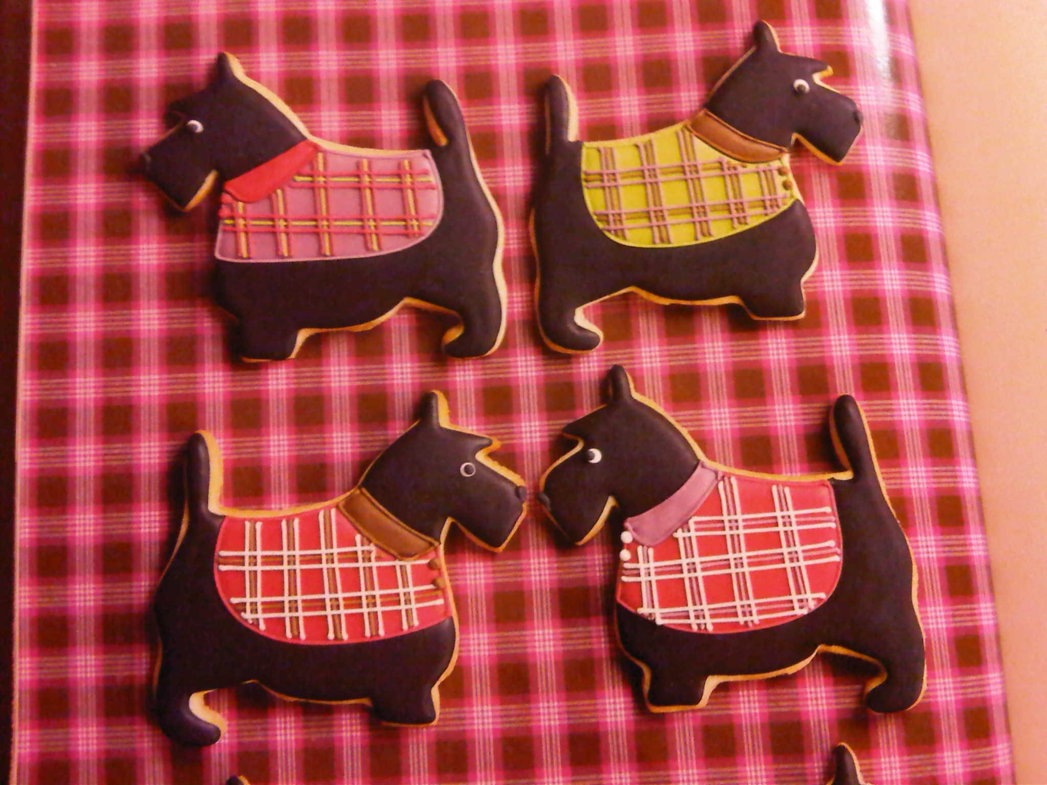 Peggy Porschen Scottie Dog Cookies Cake Cake Cake