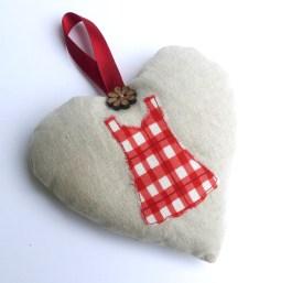 Dress lavender heart