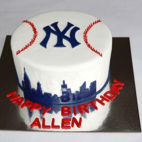 Yankees Cake