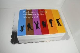 Girl Scout Leadership Cake