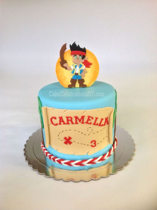 Jake Pirate Cake Cake Celebrations