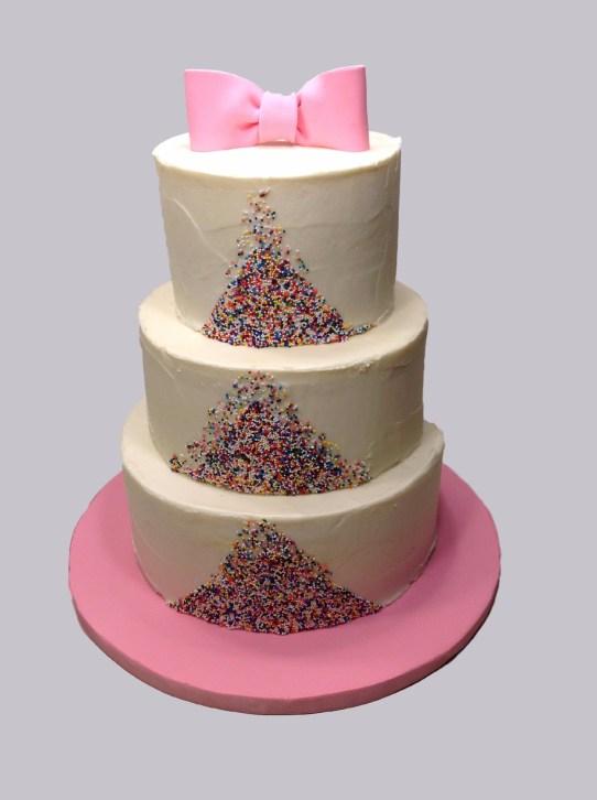 3Tier Sprinkle Cake