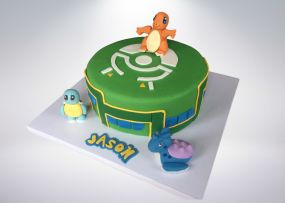 Pokemon Go Cake