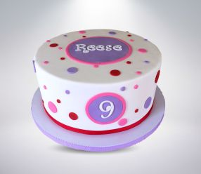 Bubbles Birthday Cake
