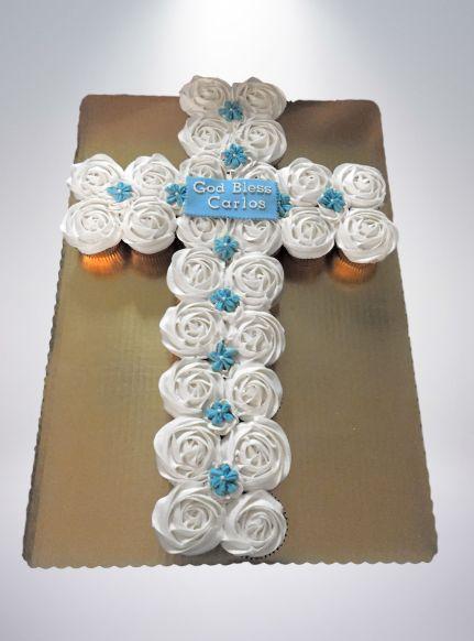 Pull Apart Cupcake Cross