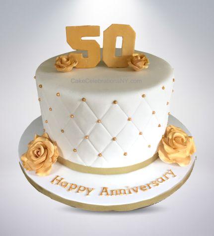 50th-Anniversary-Cake