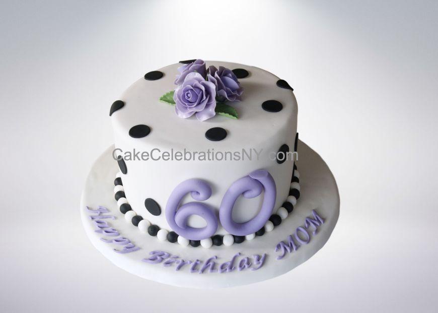 Wondrous Polka Dot Birthday Cake Cake Celebrations Monroe Ny 845 418 Funny Birthday Cards Online Necthendildamsfinfo