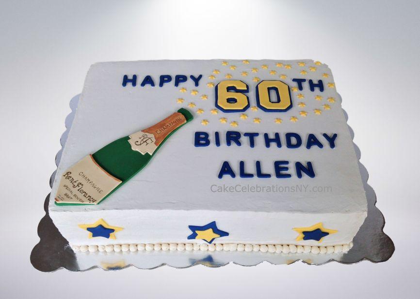 60th Birthday Sheet Cake Cake Celebrations