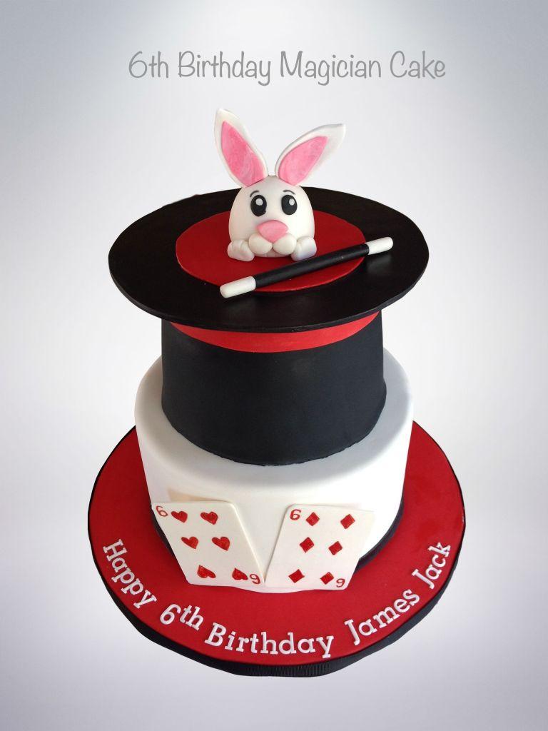Pleasant 6Th Birthday Magician Cake Cake Celebrations Monroe Ny Personalised Birthday Cards Veneteletsinfo