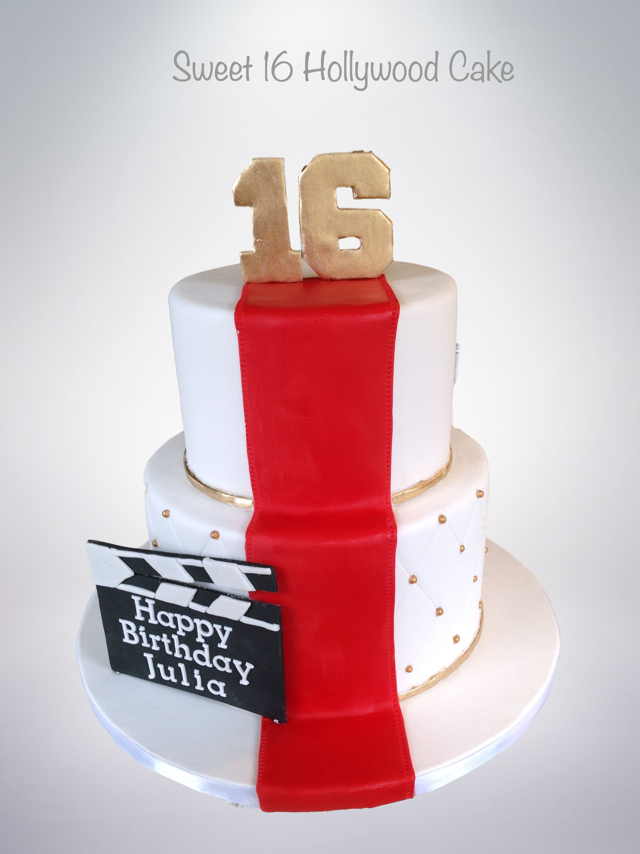 Brilliant Sweet 16 Hollywood Cake Cake Celebrations Monroe Ny Funny Birthday Cards Online Elaedamsfinfo