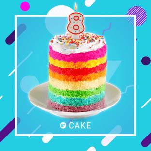 Joyeux anniversaire Cake! ?  Tu grandis trop vite!