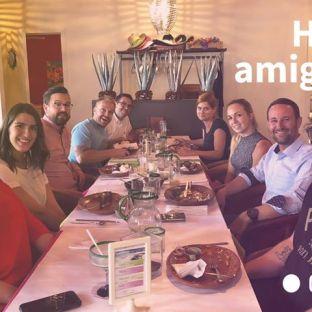 Ce midi, on s'empiffrait de tacos et de margaritas pour célébrer l'anniversaire de notre stratège marketing préfére, Annie ?