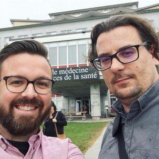 Francis et Lupin avait une rencontre ce matin avec la SMUS (Société des Médecins de l'Université de Sherbrooke) pour présenter un projet encore secret! On vous en dit plus bientôt#agencylife#businessmeeting#marketingagency#digitalagency#clientmeeting