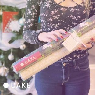 Cake s'est encore emballée cette année pour créer de nouveaux papiers d'emballage emballants pour emballer ses présents! ?