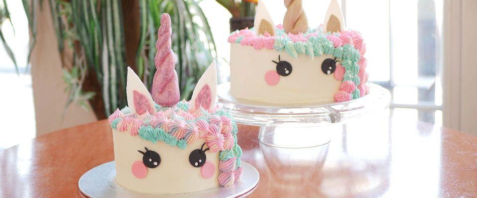 Curso tarta unicornio