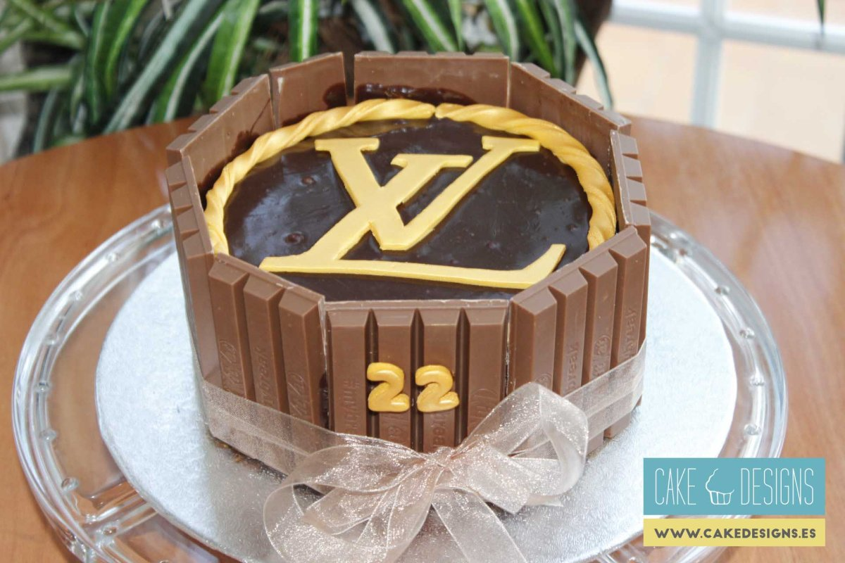 Tarta Louis Vuitton
