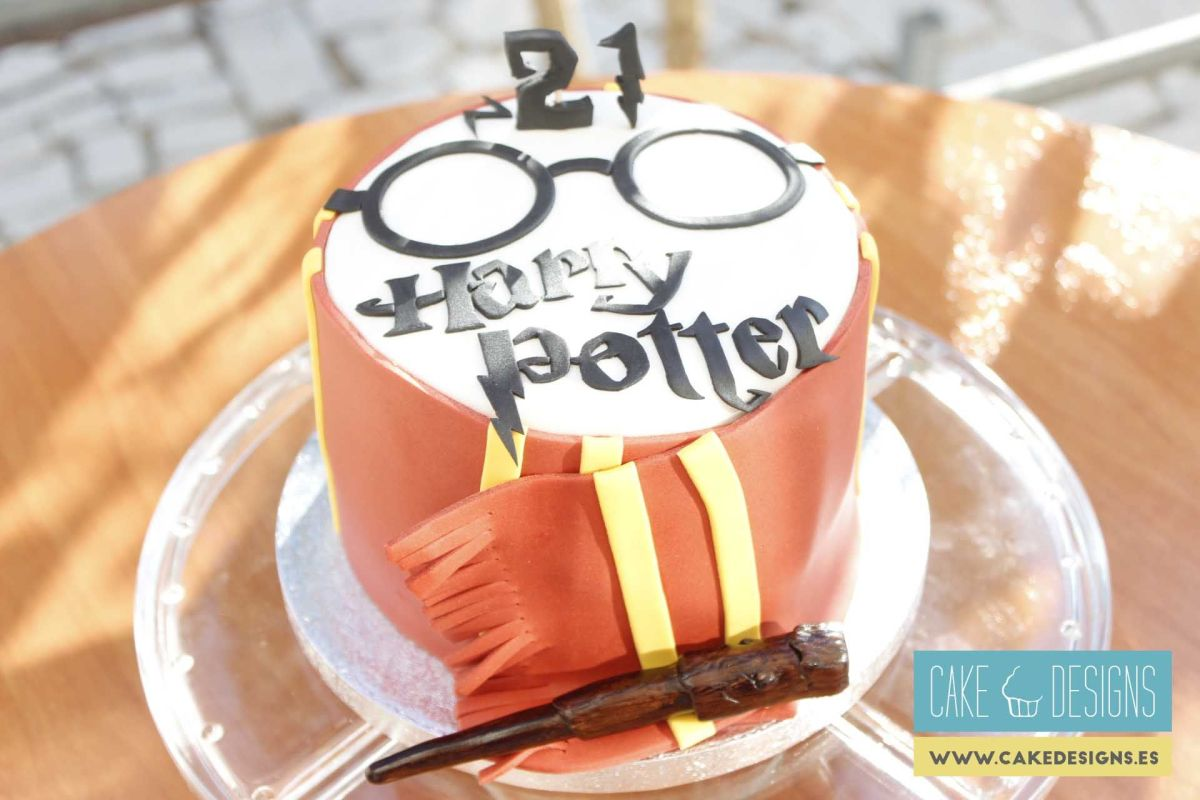 Tarta de Harry Potter - Gryffindor