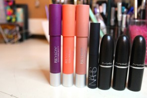 Mac lipstick, mac summer lipsticks, Revlon matte balm