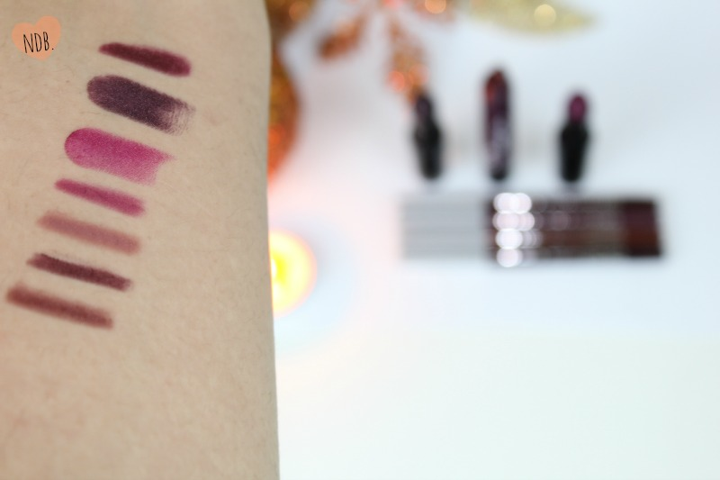 Fall 2014 Drugstore Lipstick Swatches
