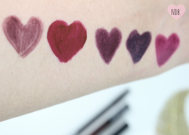 Vampy lip products, MAC, NARS, Kat Von D, OCC, Black Dahlia, Wet n Wild, Train Bleu, Nightmoth, Vampira, Vamp it Up, Review