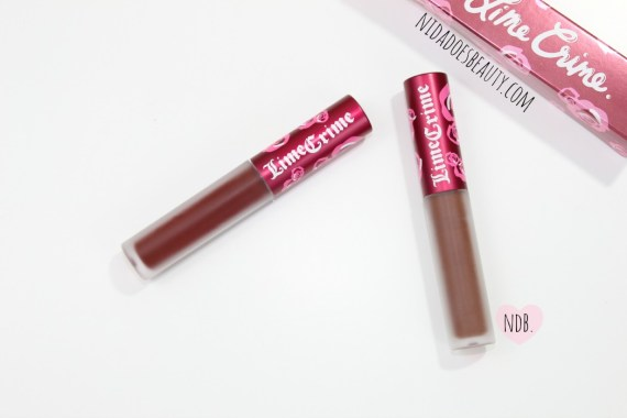 Lime Crime Velvetine Review