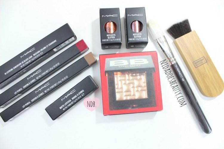 MAC, MAC Haul, Bobbi Brown Haul, Makeup Haul, Beauty Haul, Everyday Minerals Itahake, MAC brush, MAC glitter, MAC lip liner, MAC beet, MAC Stripdown, beauty, beauty blog, makeup