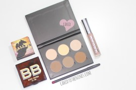 Products YouTube made me buy, beauty products, Contour kit, anastasia beverly hills, bobbi brown bronze glow, benefit dallas blush, mac beet lip liner, buxom white russian