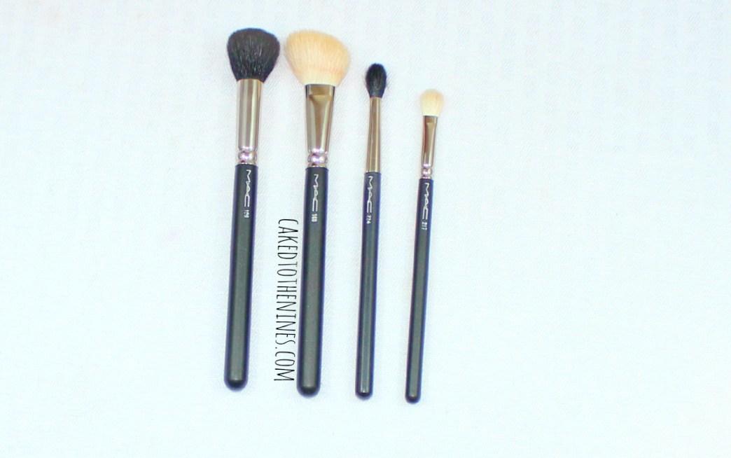 MAC Makeup Brush Essentials, beauty blog, MAC brushes, MAC brush reviews, MAC 217, MAC 224, MAC 168, MAC 109, MAC essentials