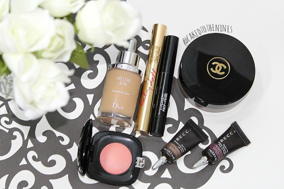 Dior Nude Air Serum foundation, YSL Babydoll mascara, MAC Prep + Prime in Light Boost, Chanel Soleil Tan De Chanel bronzing base, Becca Eye Tint in Gilt, Becca Beach Tint in Raspberry, Marc Jacobs blush in Obsessed, Interview makeup products, interview makeup, interview beauty, natural makeup, soft makeup