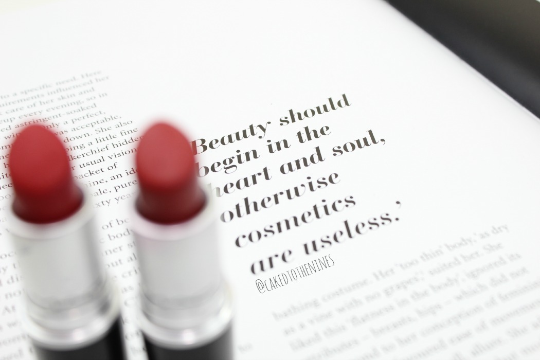 Beauty chat, do you prefer ruby woo or russian red lipstick from MAC?