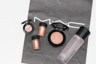 MAC haul, Sweet Heat eyeshadow, MAC Tan pigment, MAC Melon pigment, MAC Warm soul, MAC Fix+ Rose