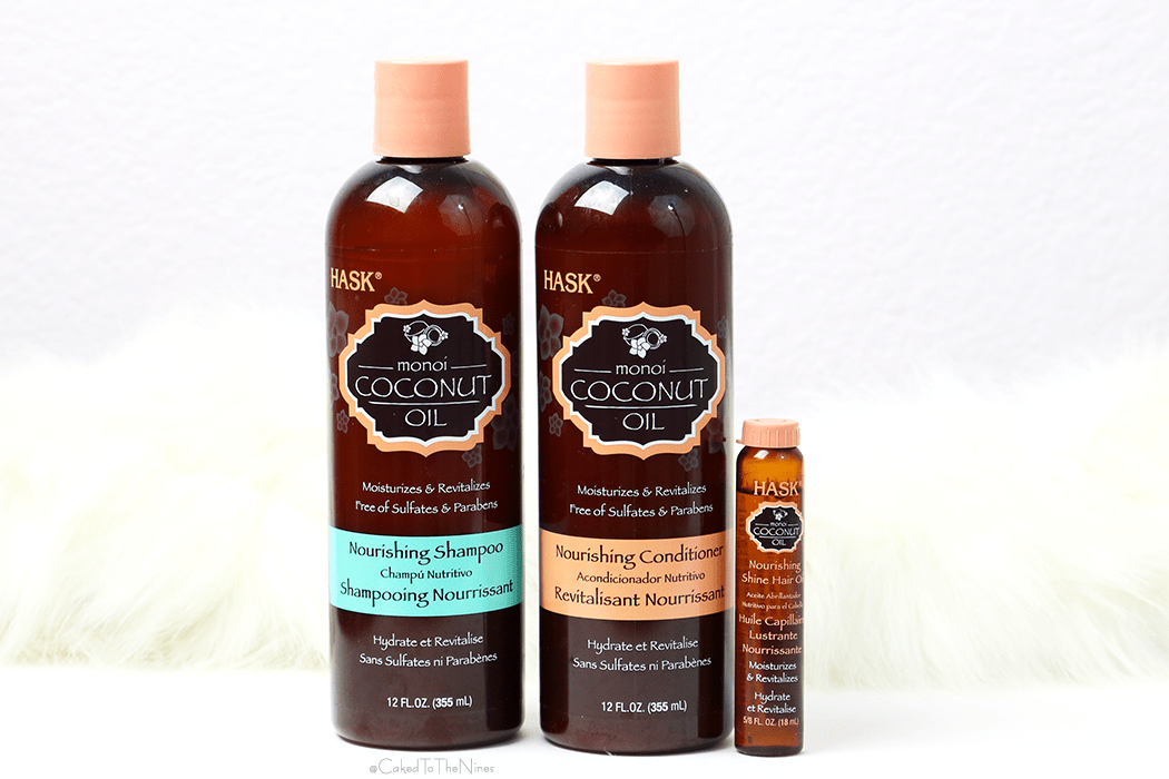 HASK Coconut Oil Nourishing Hair Care Collection review