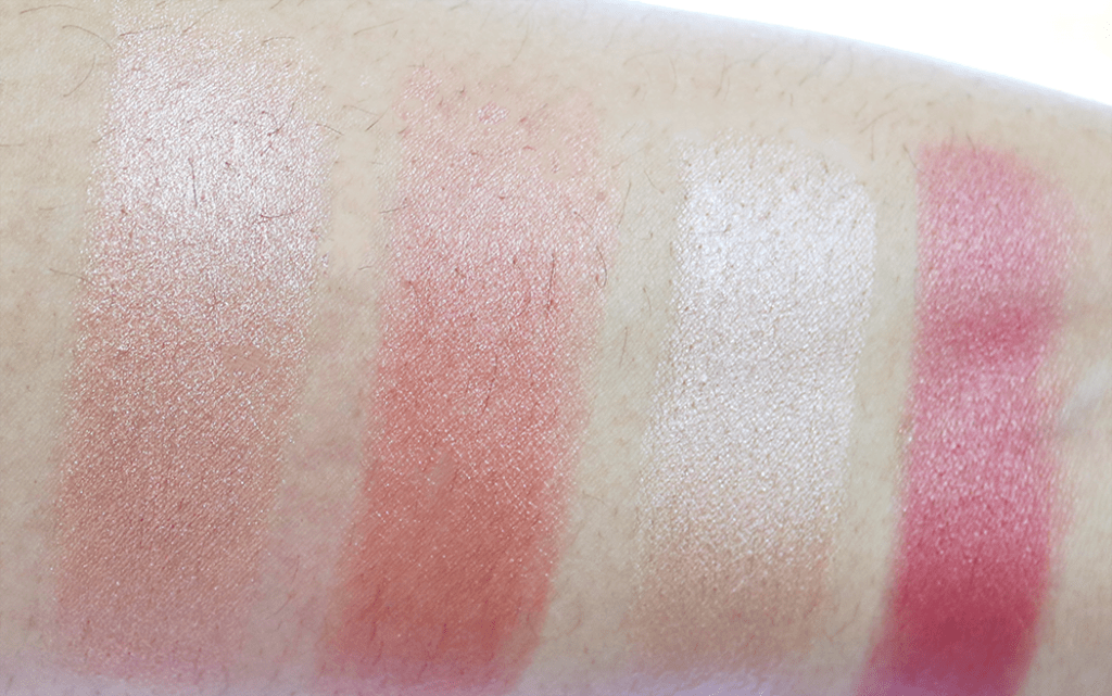Beauty For Real Blush & Glo swatches