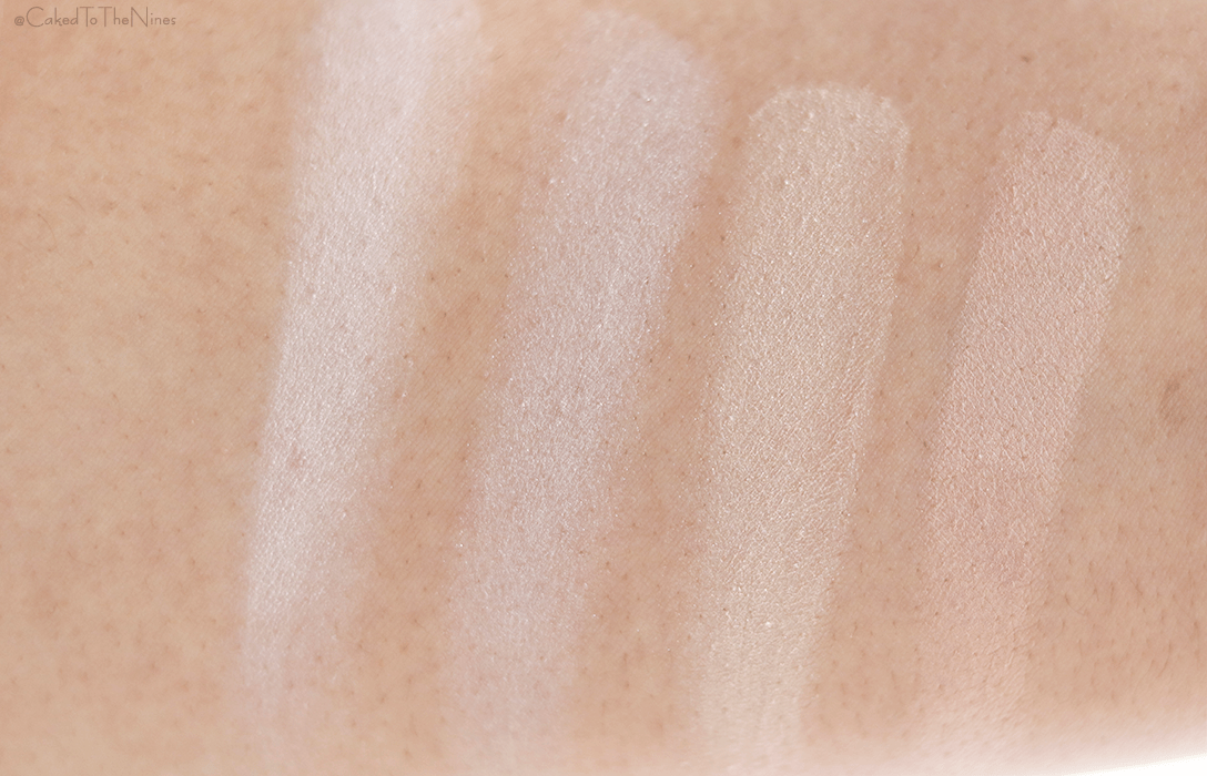 Bare Minerals Invisible Light Duo | Left to right: Matte, Glow, Hourglass Brilliant Strobe Light, Hourglass Dim Light Ambient Light
