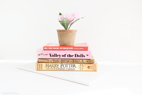 book haul featuring Harry Potter and the Cursed Child