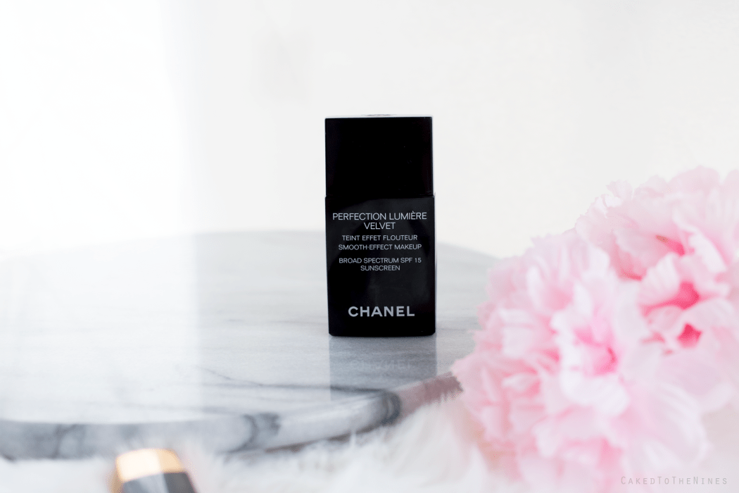 chanel velvet foundation. chanel perfection lumiere velvet foundation worth the hype?