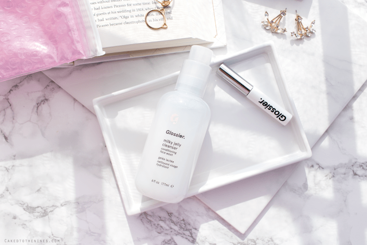 2 new Glossier products and my first impressions | Milky Jelly Cleanser and Boy Brow