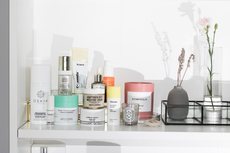 Most used skincare: 2018. Featuring Complex Beauty, Drunk Elephant, Glossier, and more.