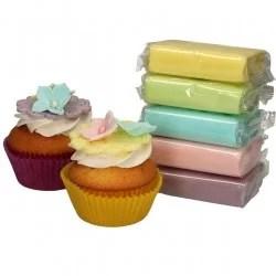pate a sucre couleurs pastel