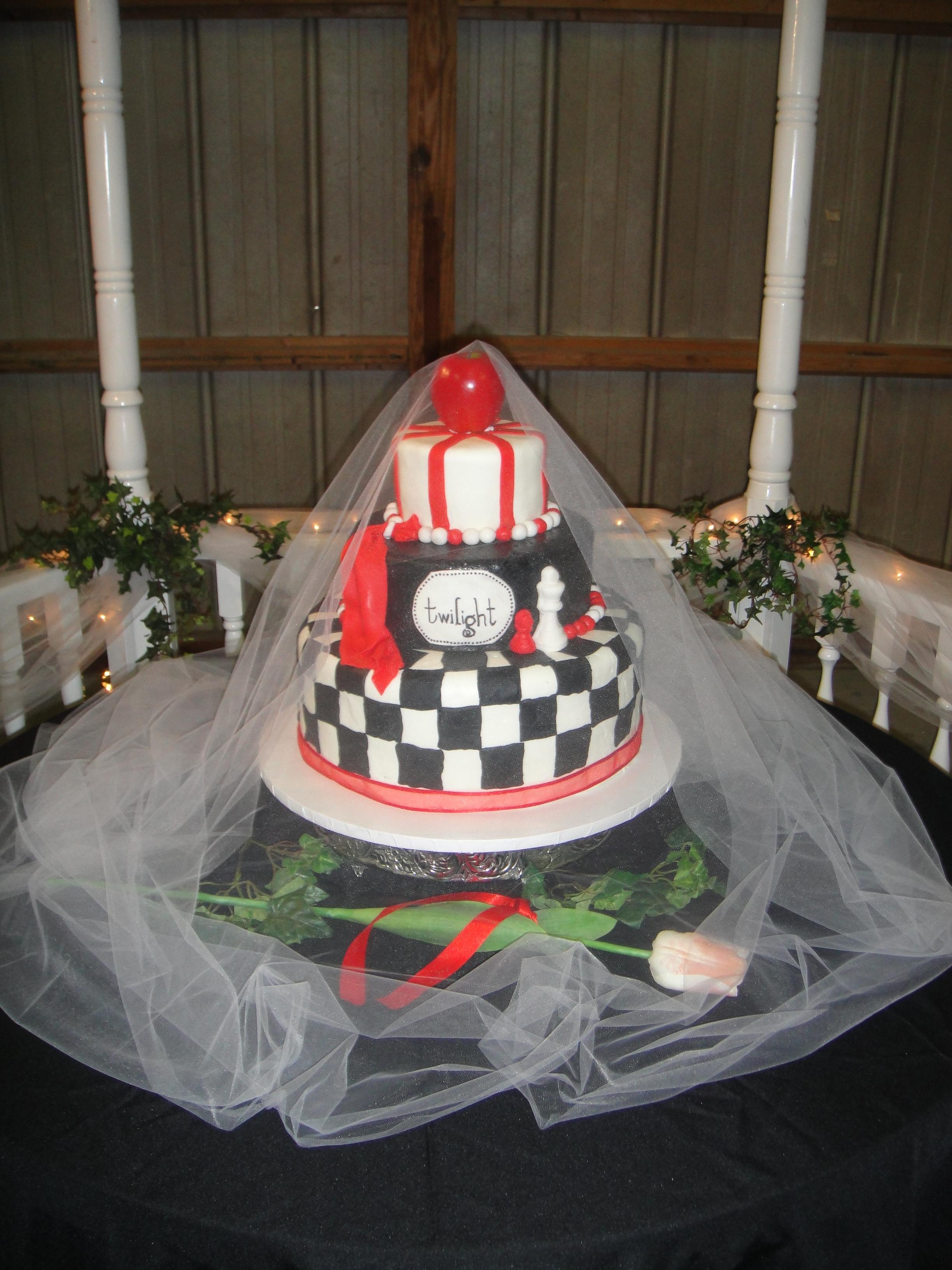 Pin Edward Twilight Cake Ideas And Designs