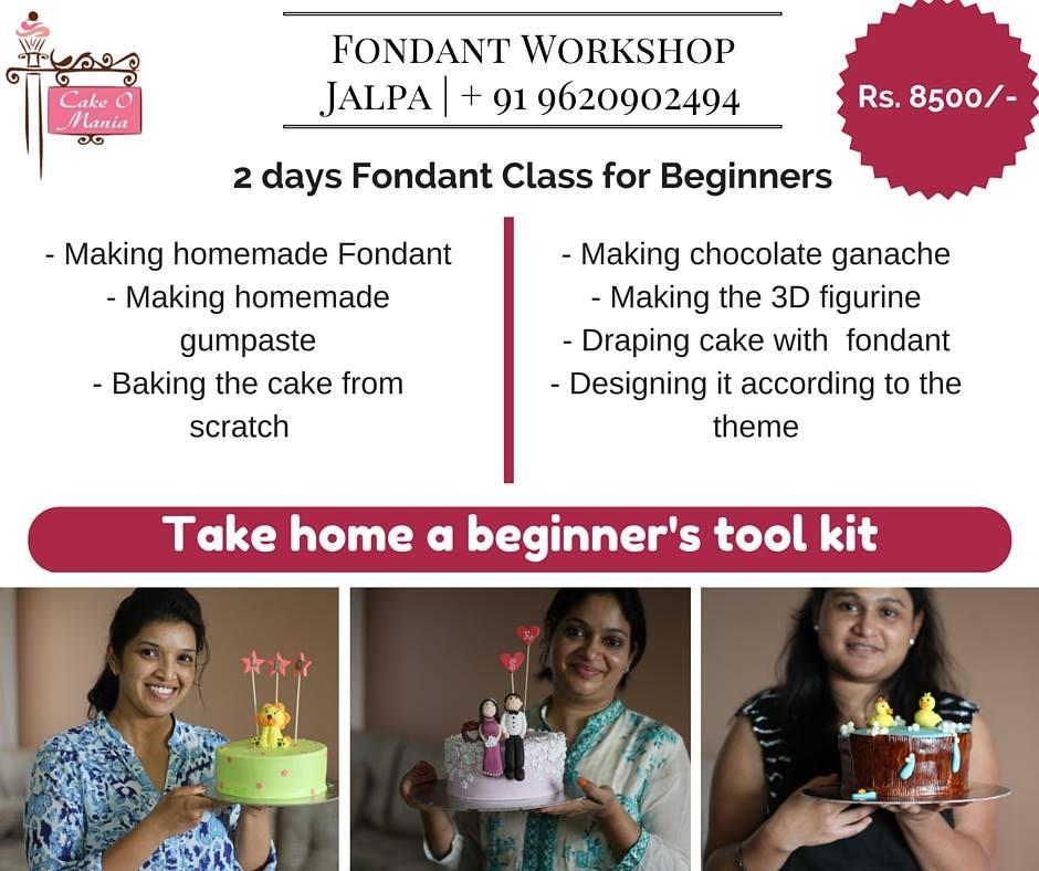 January Fondant Workshop