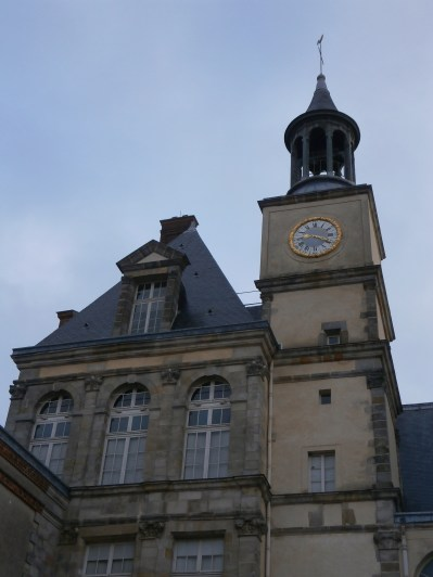 Clock tower on the main building
