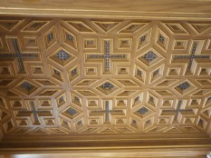 Ceiling of the gallery