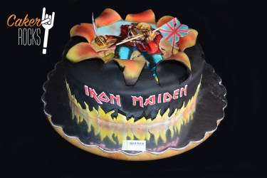Trooper Eddie 2D de Iron Maiden