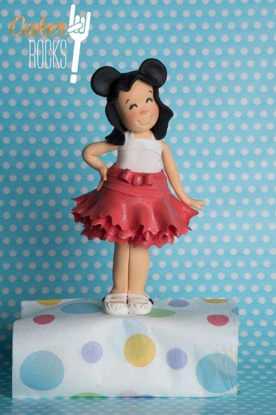 Modelado en azúcar Orejitas de Mickey